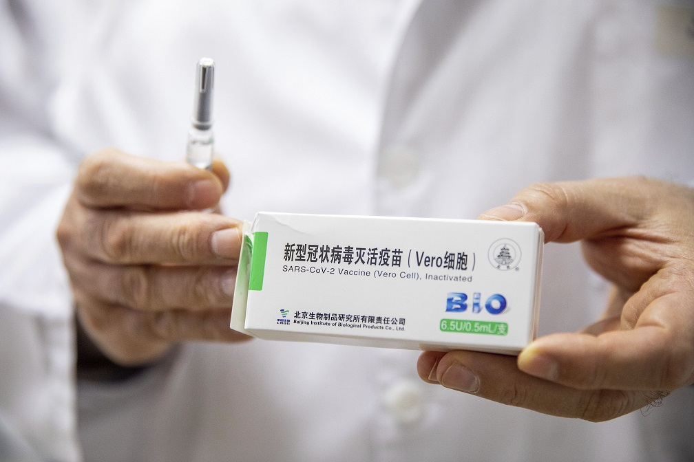 Hungary first in EU to innoculate with China's Sinopharm vaccine