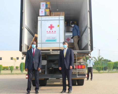 Mozambique receives its first batch of COVID-19 vaccines from China