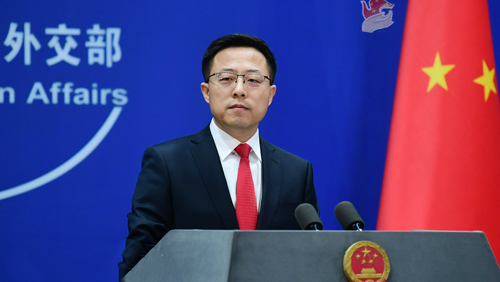 China never requested US diplomats for anal swab COVID-19 test: spokesperson