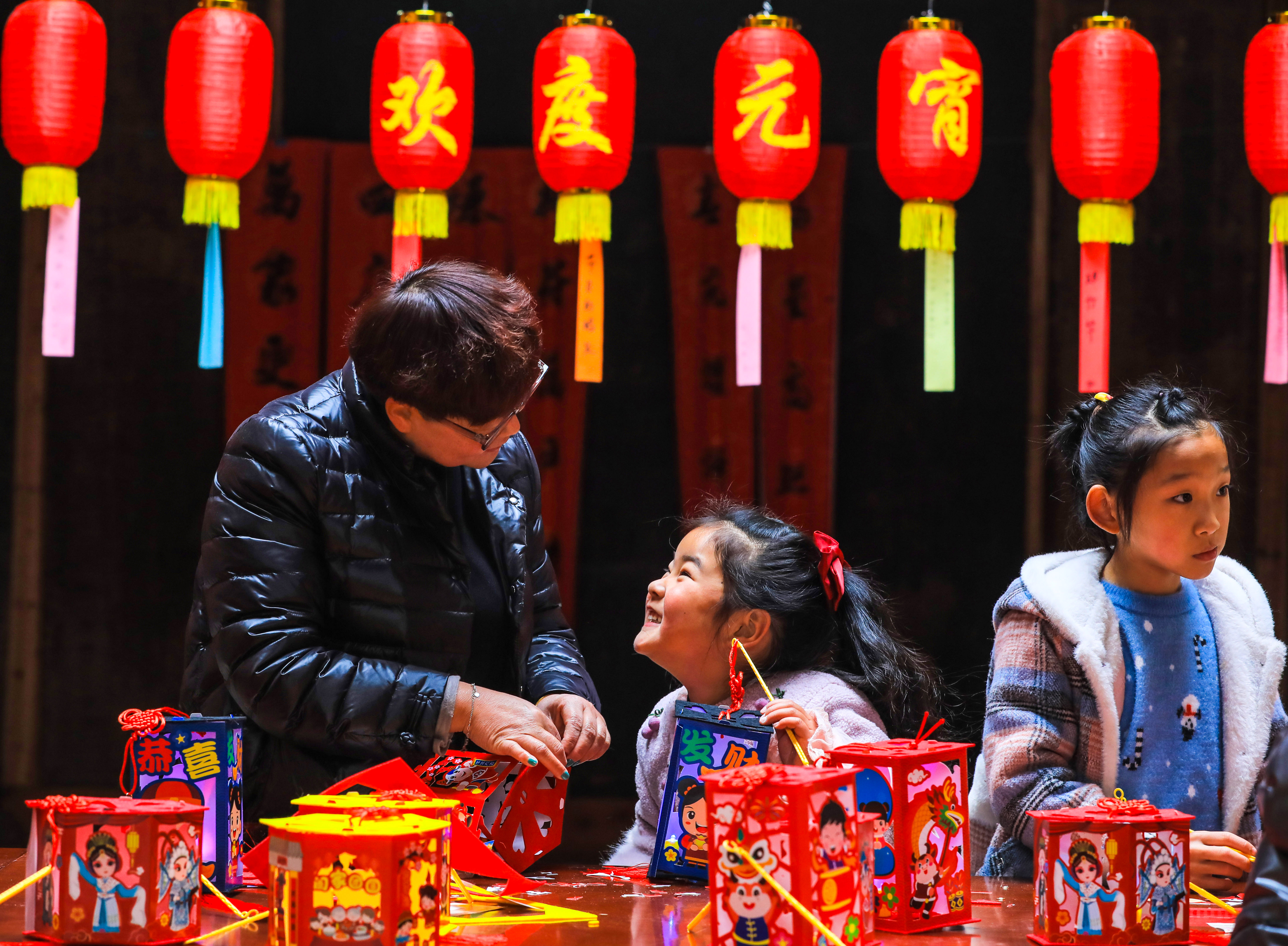 Lantern Festival traditions celebrated all across China