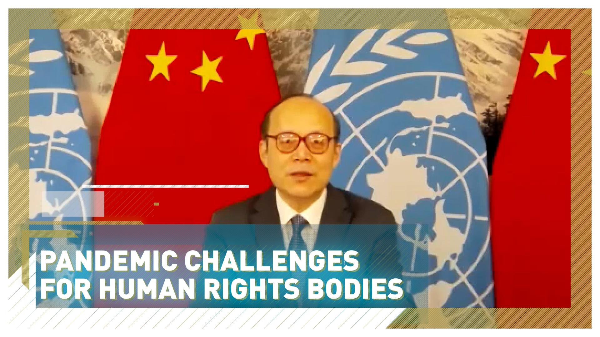 China's UN envoy Chen Xu warns of pandemic impact on human rights