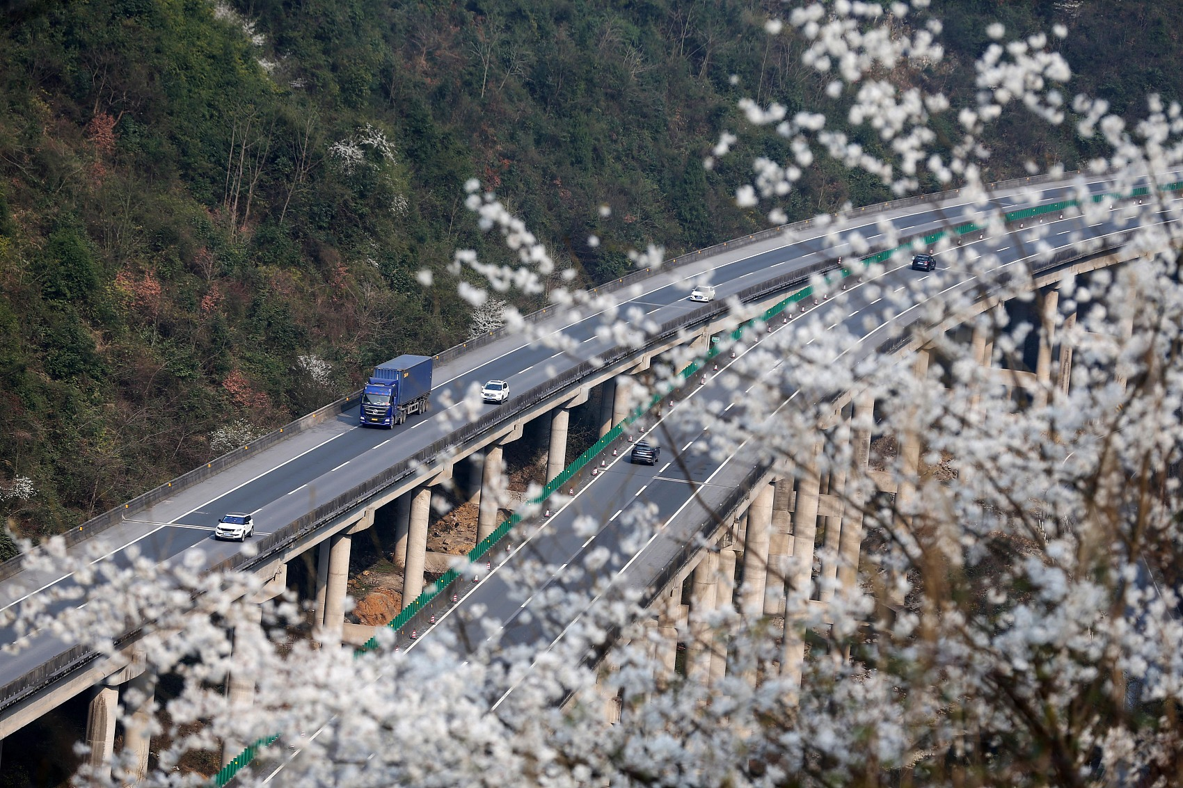 China's transport investment surges in January