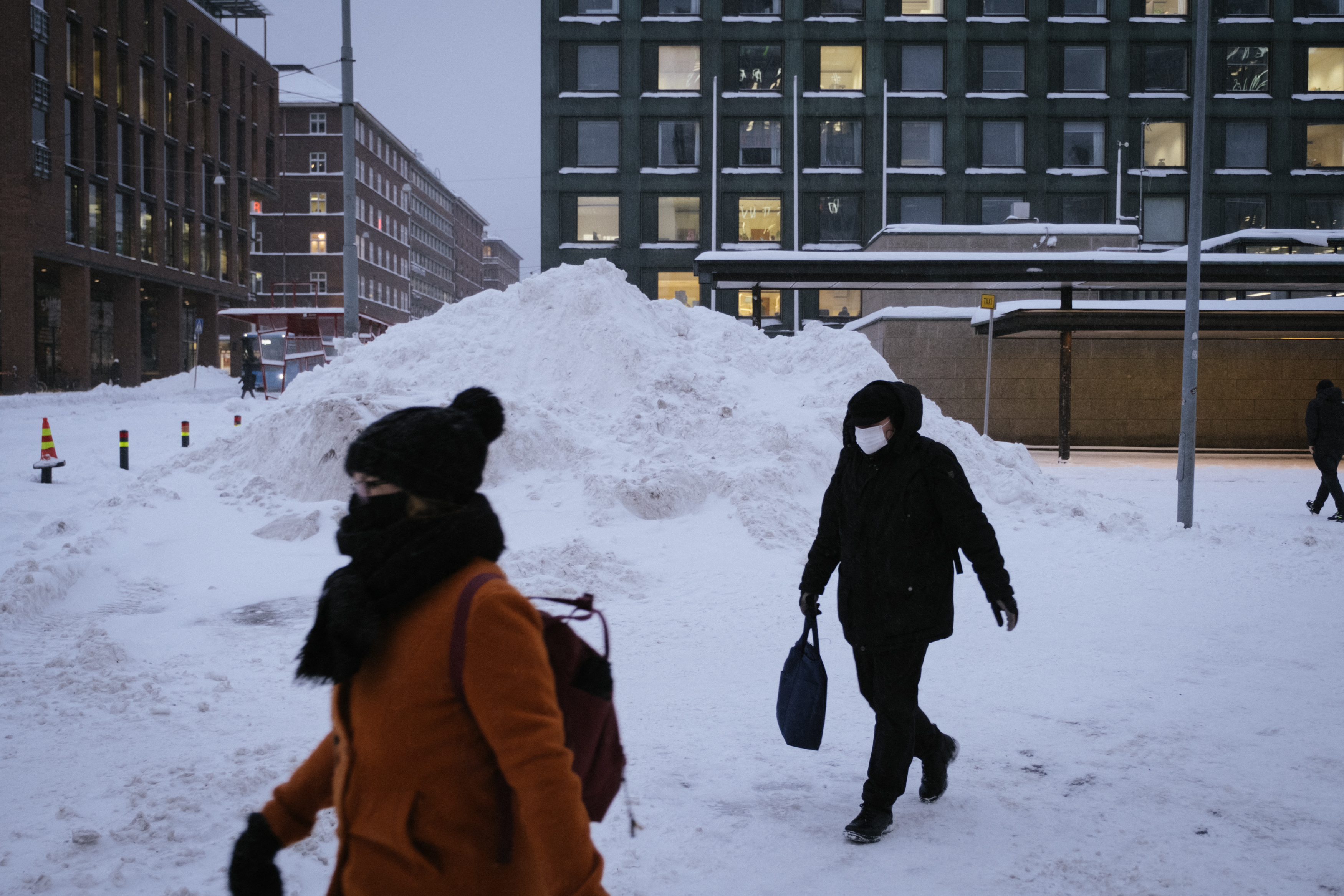 Finnish GDP down by 2.9 pct in 2020