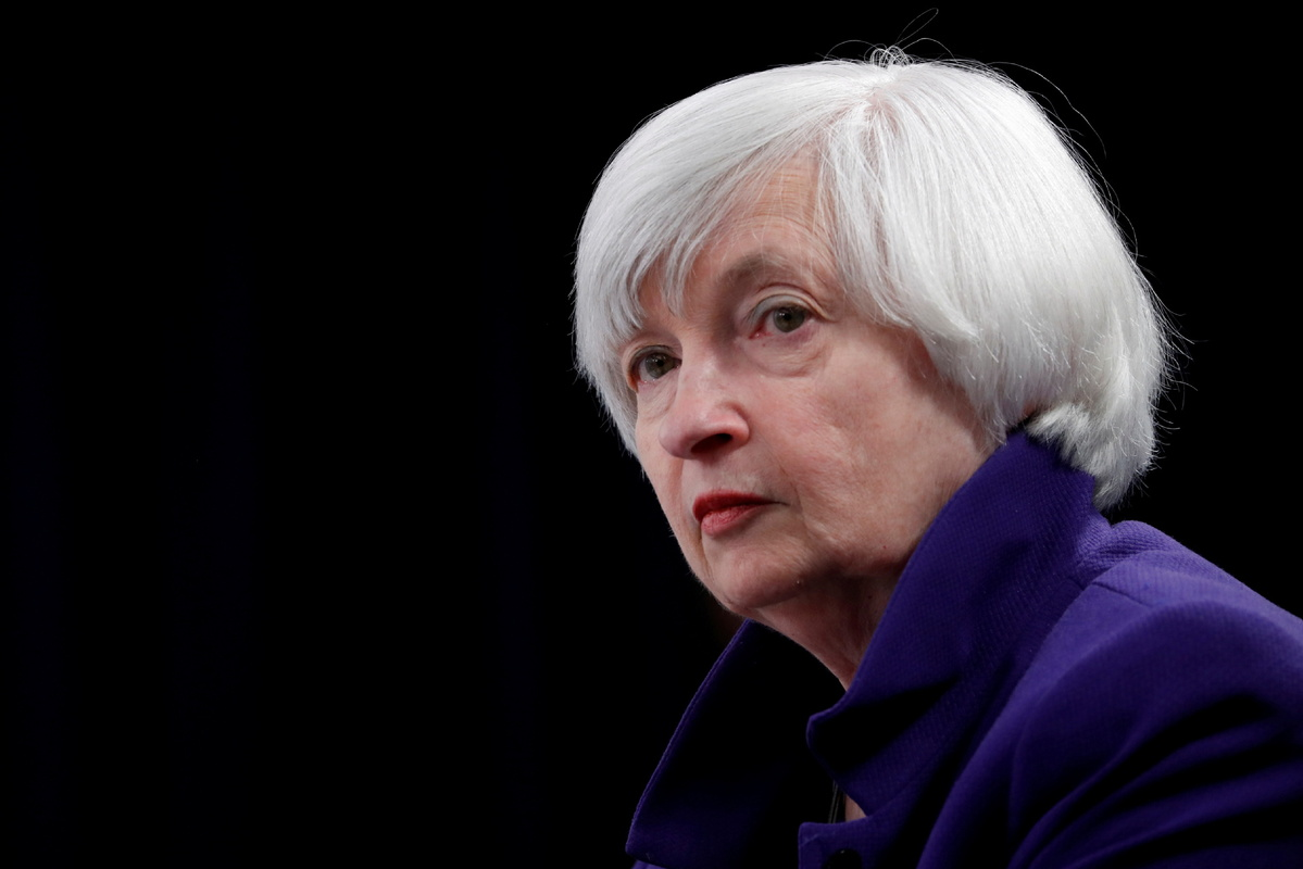 Yellen urges G20 to strengthen cooperation