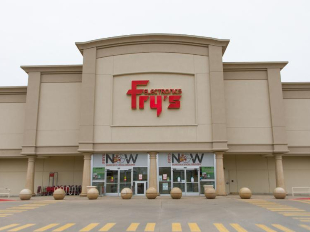 All stores of Fry's Electronics closed in US