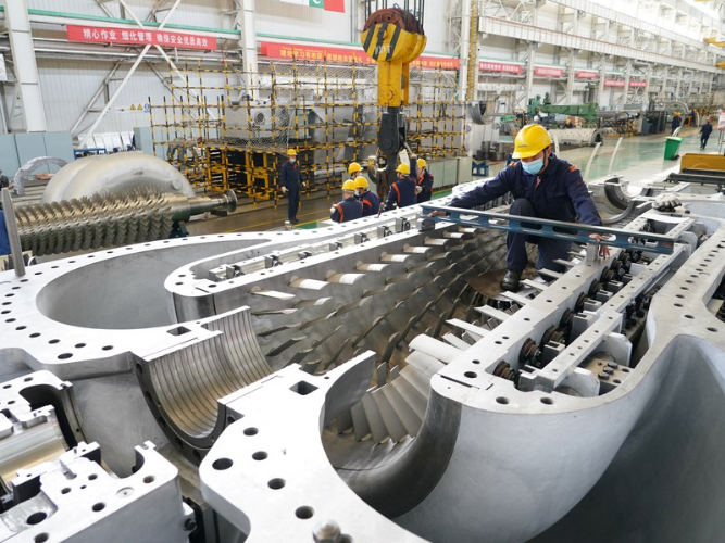 Chinese central SOEs report profit growth in 2020