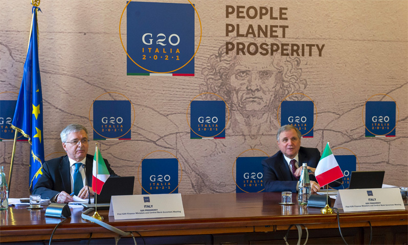 Italy's G20 presidency gets underway, ministers agree to continue coronavirus stimulus efforts