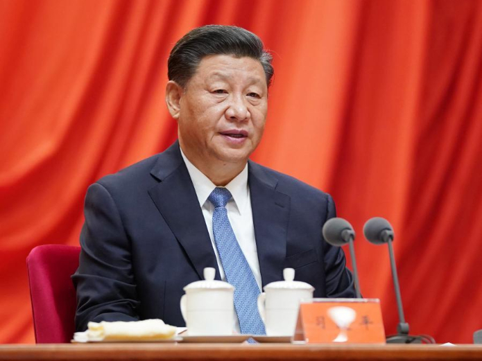 Senior CPC officials report work to CPC Central Committee, Xi
