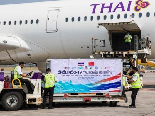 Thailand kicks off its COVID-19 vaccinations
