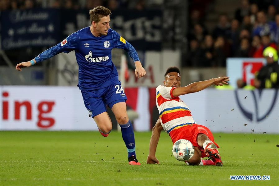 Multiple sackings as Schalke plunges into chaos