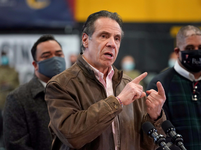New York governor hit with 2nd harassment claim