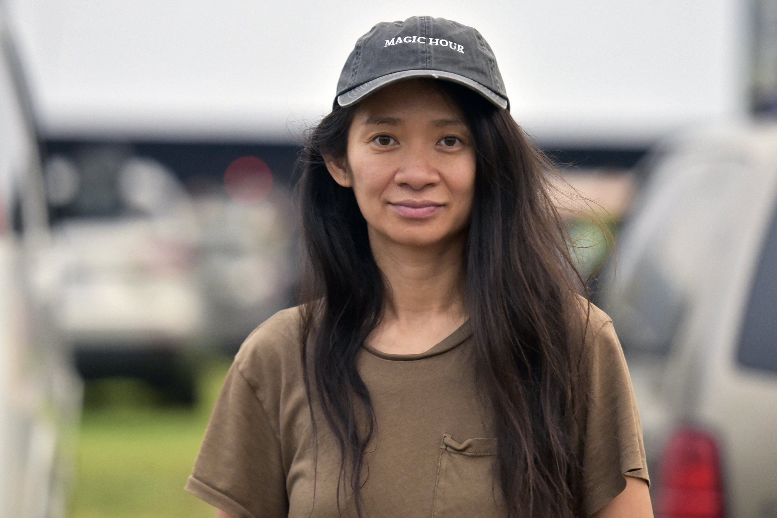 Chloe Zhao wins Golden Globe for best director in motion picture
