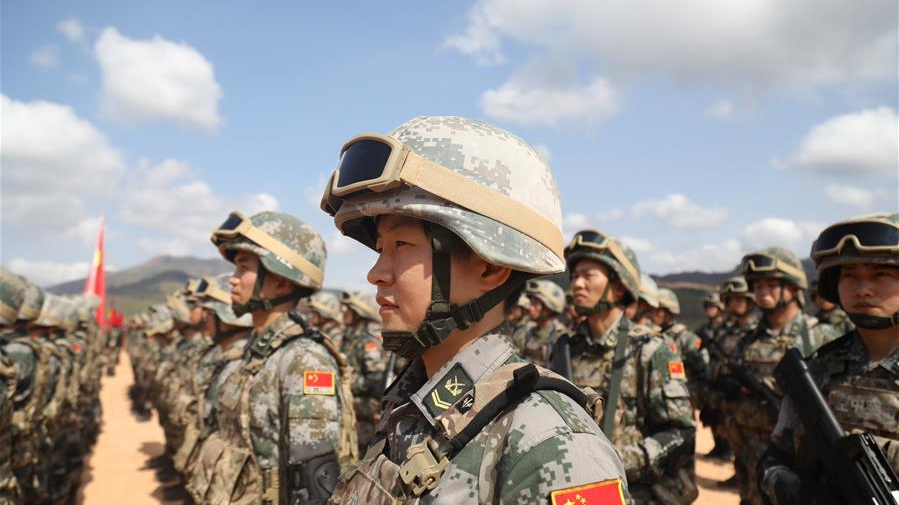 China: national defense policy is to 'never seek hegemony'
