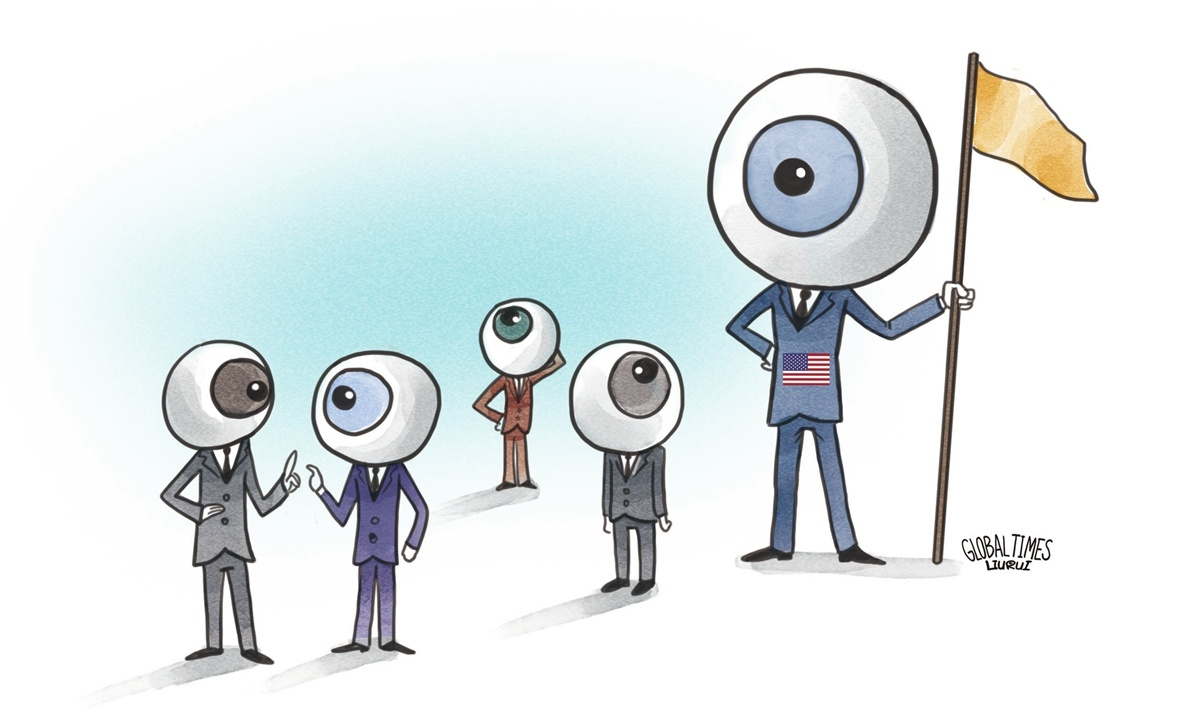Five Eyes' narrow hegemony caters to biased interests of small circle
