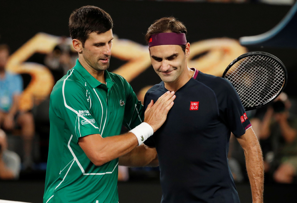 Djokovic matches Federer's record for most weeks as ATP No 1