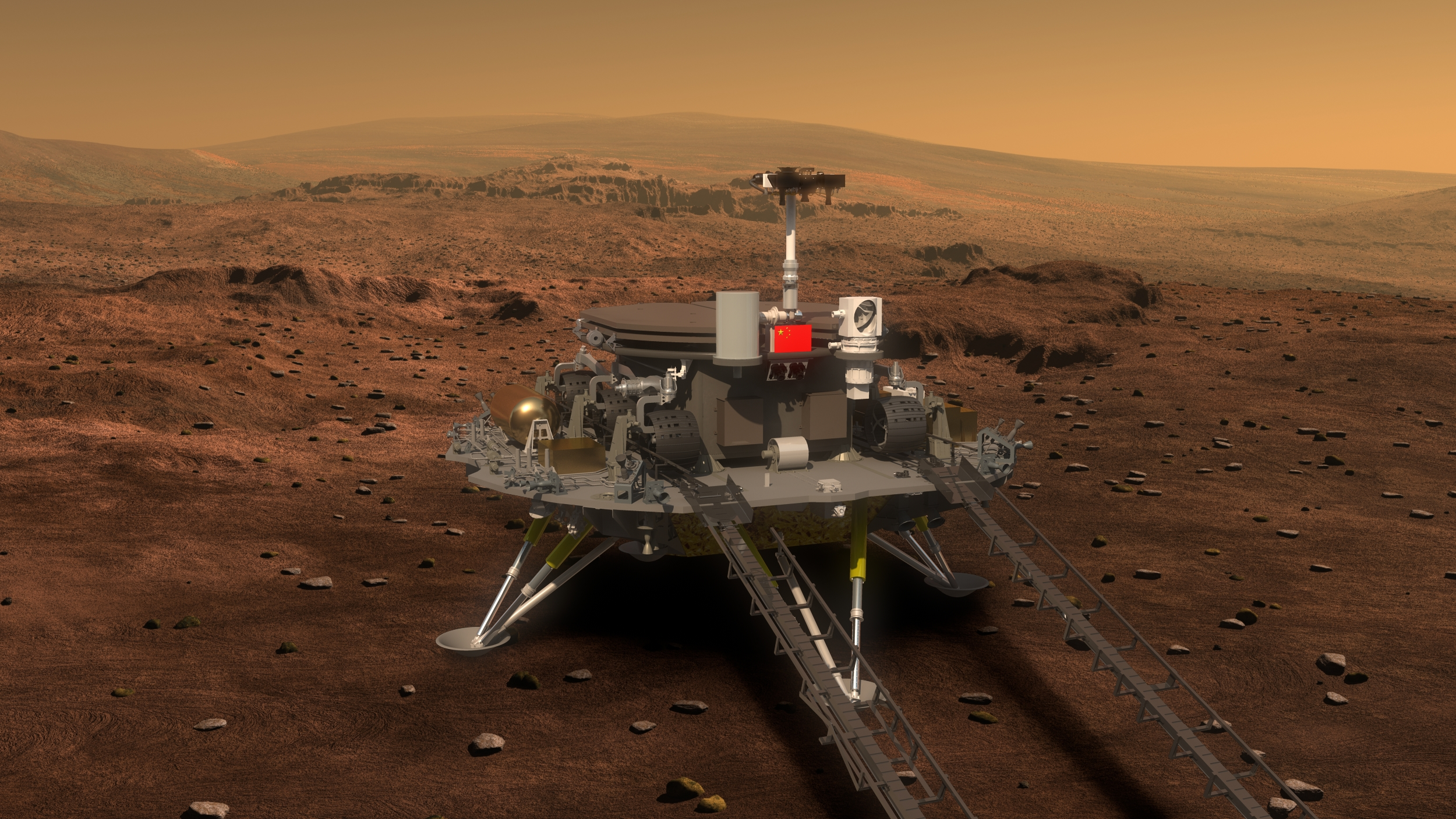 Three candidate names for China's Mars rover come out