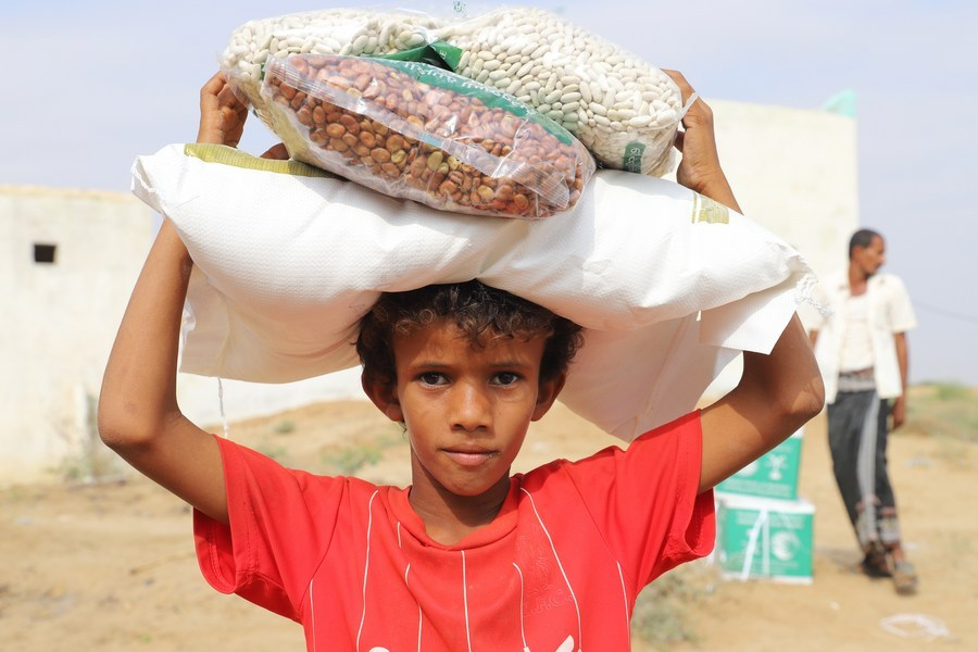 Chinese envoy asks for more int'l aid for Yemen