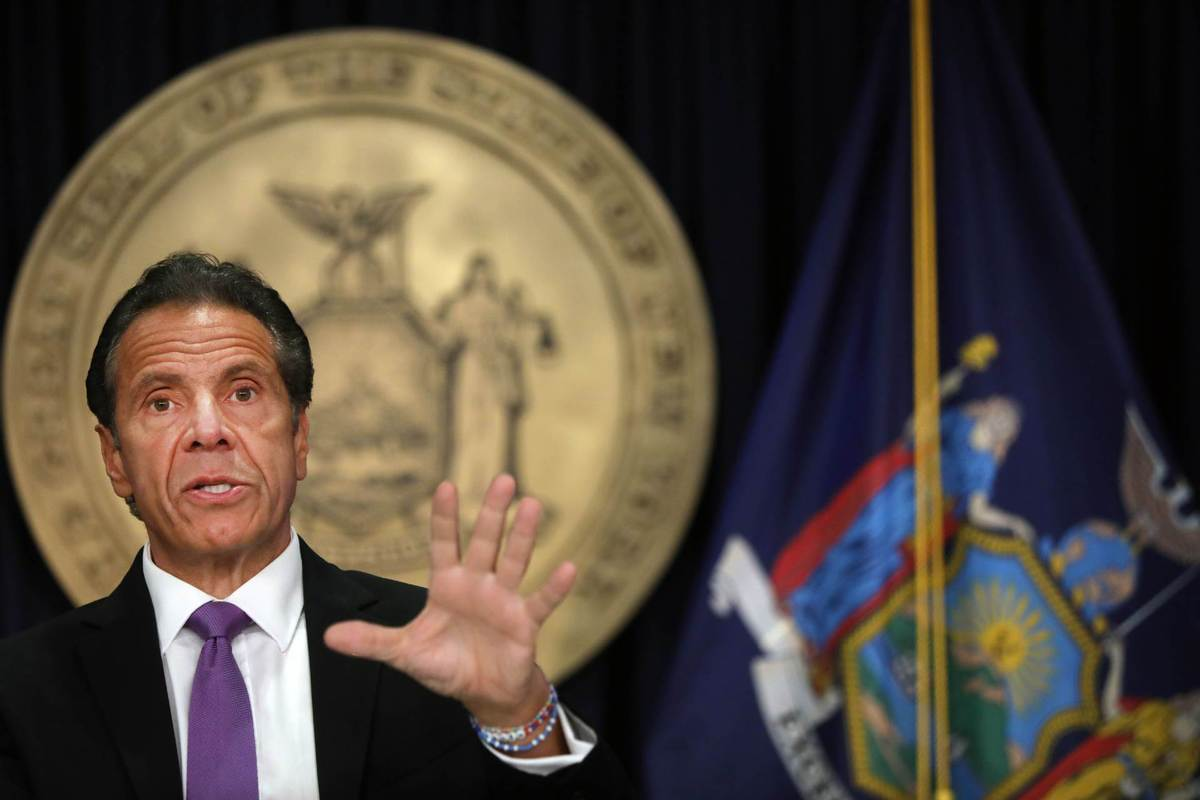 Cuomo sends letter authorizing probe of harassment claims