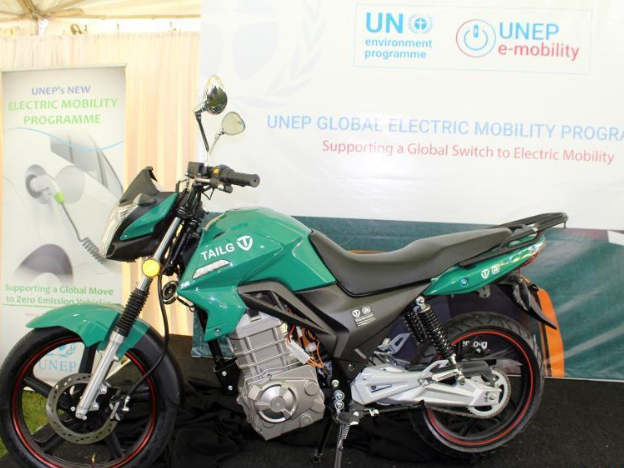 UNEP rolls out electric bikes project in Kenya