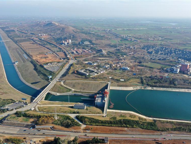 Chinese water diversion project moves 22 bln cubic meters of water