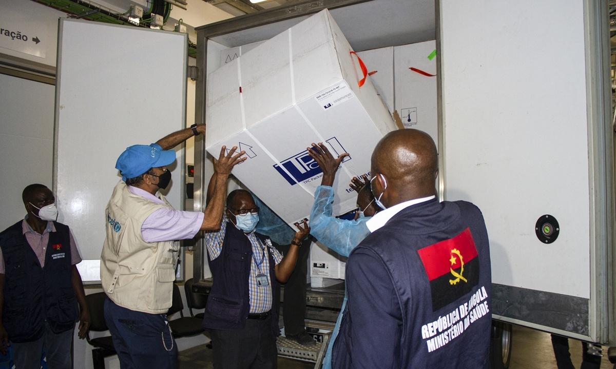 Angola, Nigeria get Covax shots