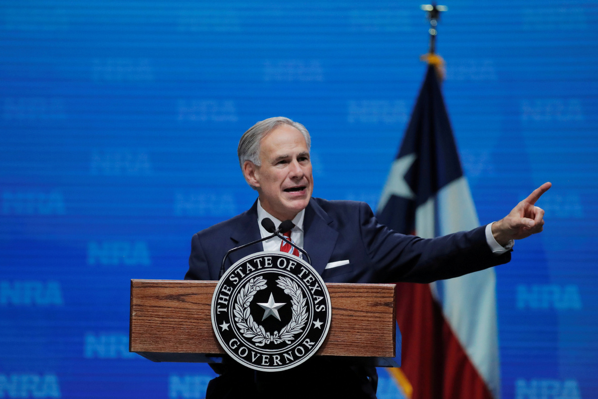 Texas governor lifts mask mandate, opening state '100 percent'