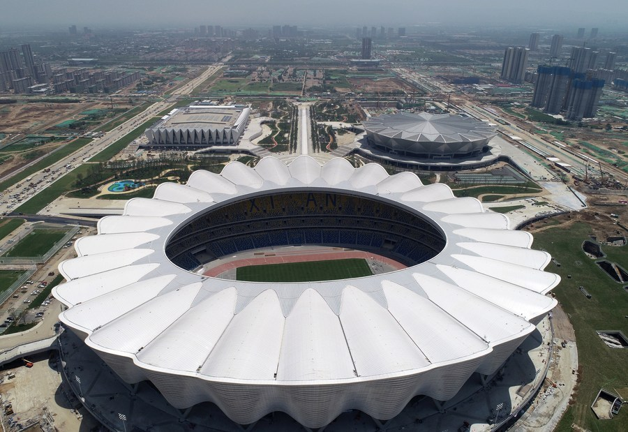 14th National Games boost public fitness in Xi'an
