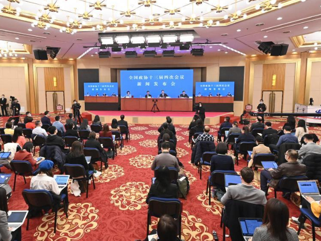 China's top political advisory body briefs media ahead of annual session