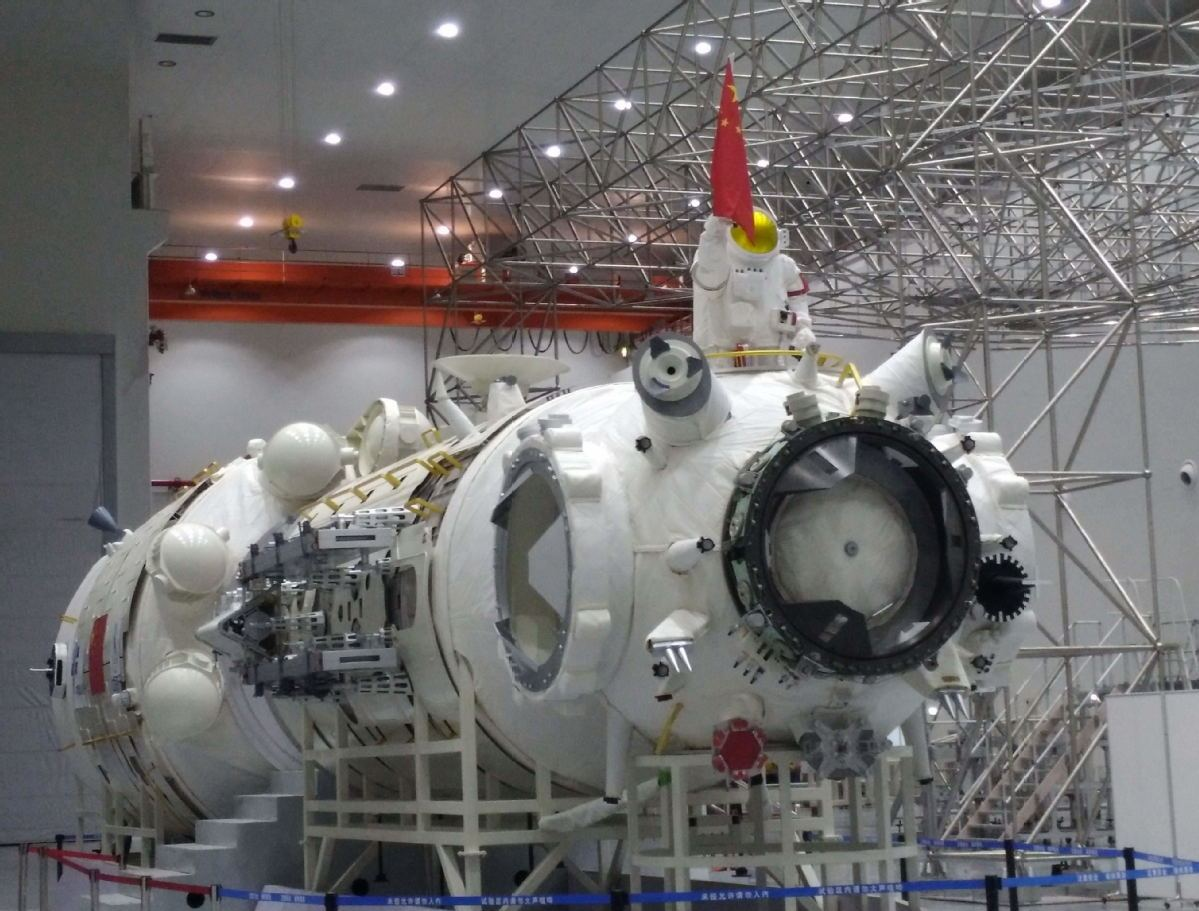 China tests high-thrust rocket engine for upcoming space station missions
