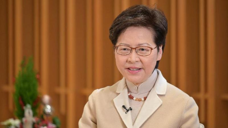 HKSAR chief executive dubs national security law 'stabilizing force' for Hong Kong