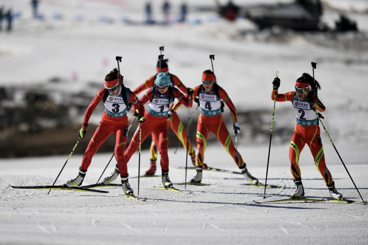 Winter sports development sets hot pace