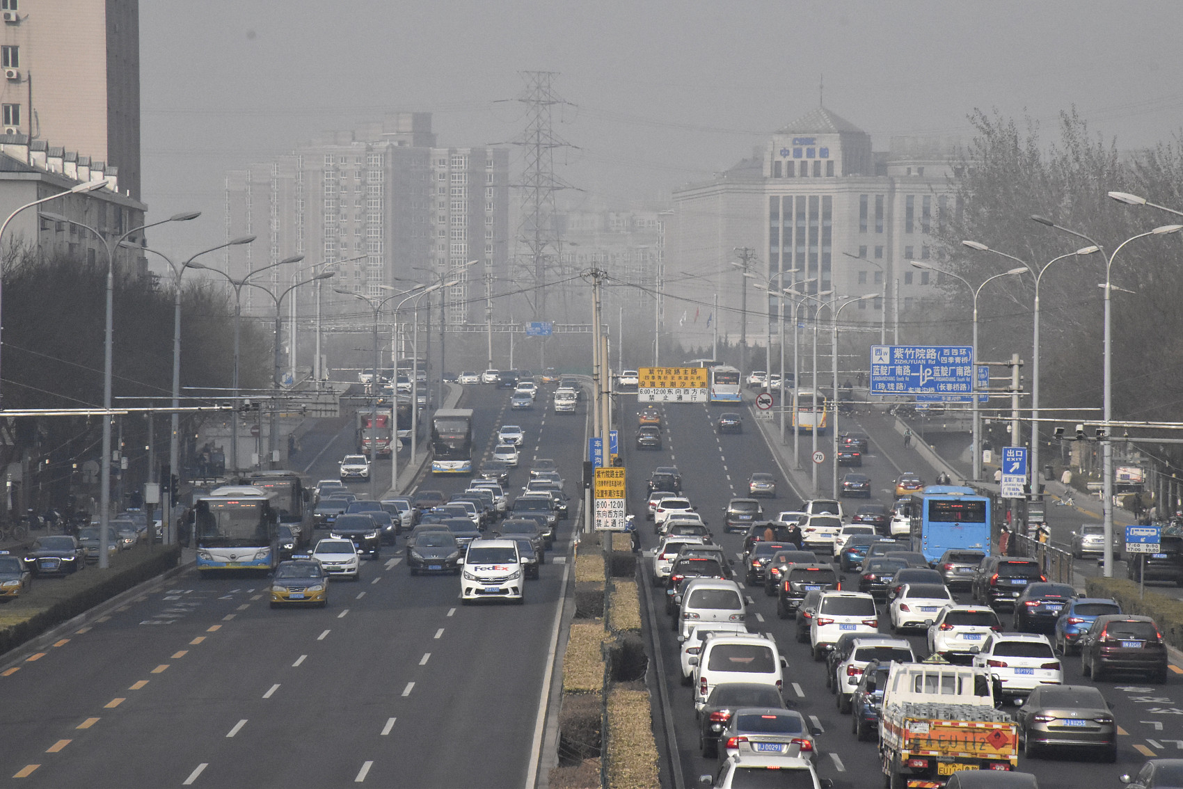 Beijing aims to further reduce PM2.5 density and heavily polluted days