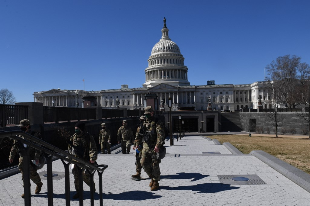 US Capitol Police disclose possible right-wing attack on March 4
