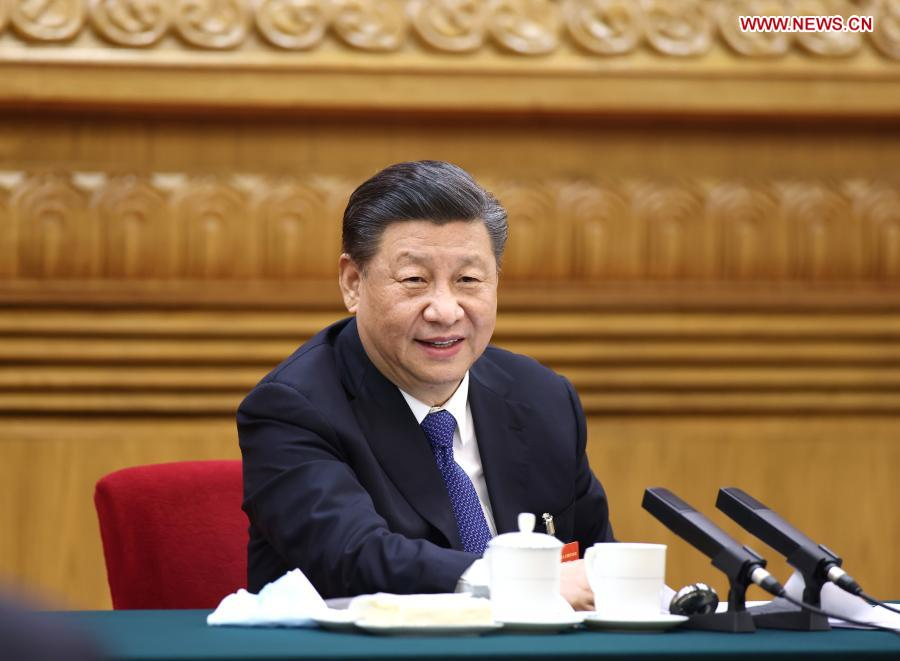 Xi stresses new development philosophy, ethnic unity during legislative session