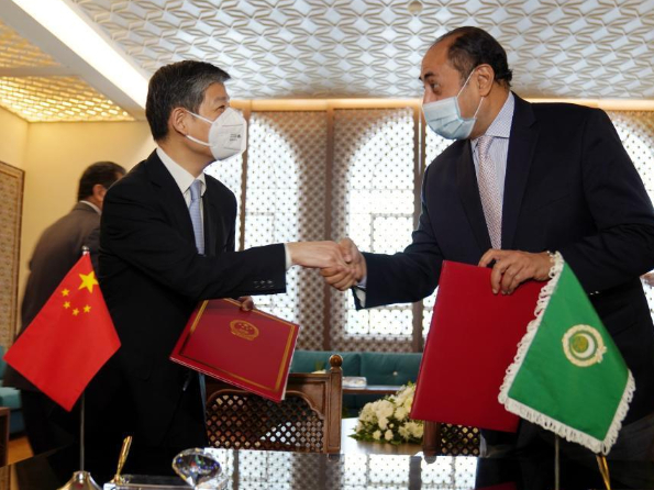 China provides COVID-19 vaccines to Arab League