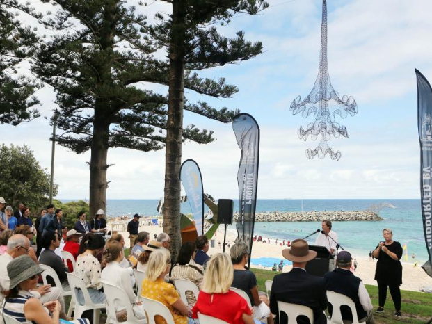 17th Annual Cottesloe Exhibition staged at Cottesloe Beach in Australia