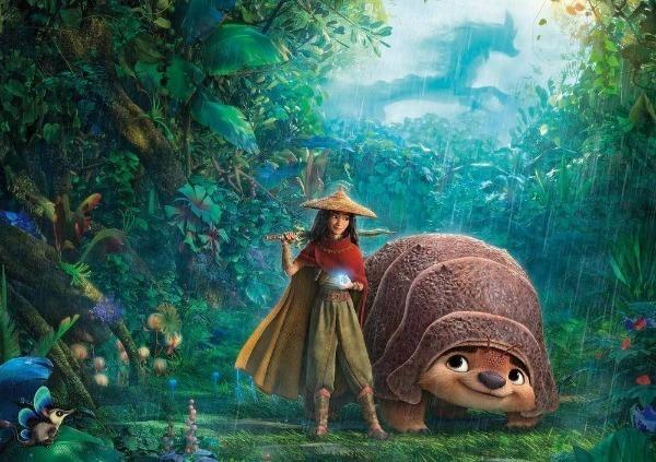 Chinese animators help Disney's 'Raya and the Last Dragon' soar