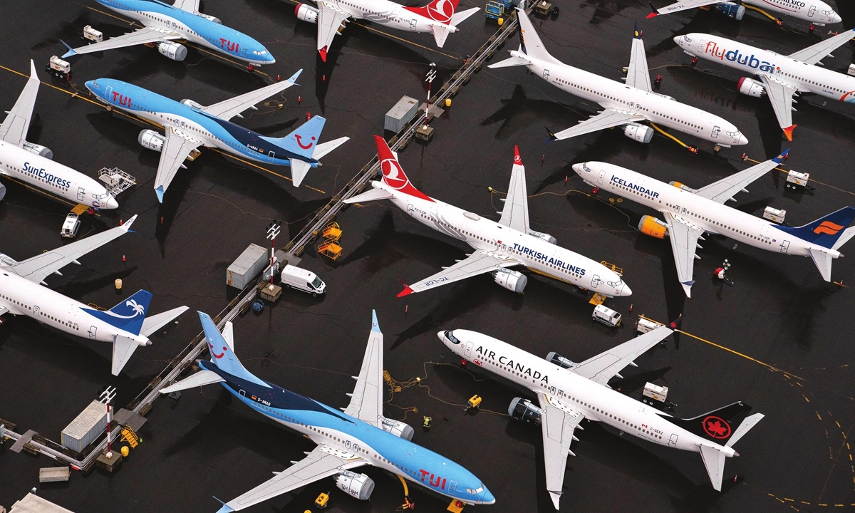 American says 737 MAX experienced 'mechanical issue'