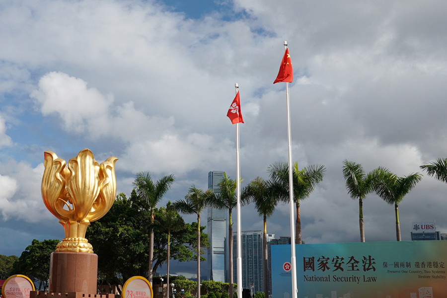 Senior diplomats voice support for Beijing on its internal affairs