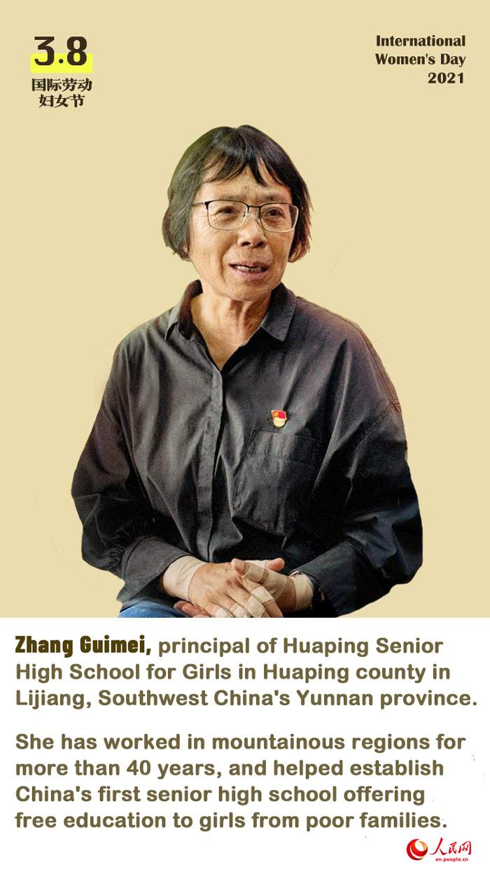 International Women's Day: Outstanding Chinese women