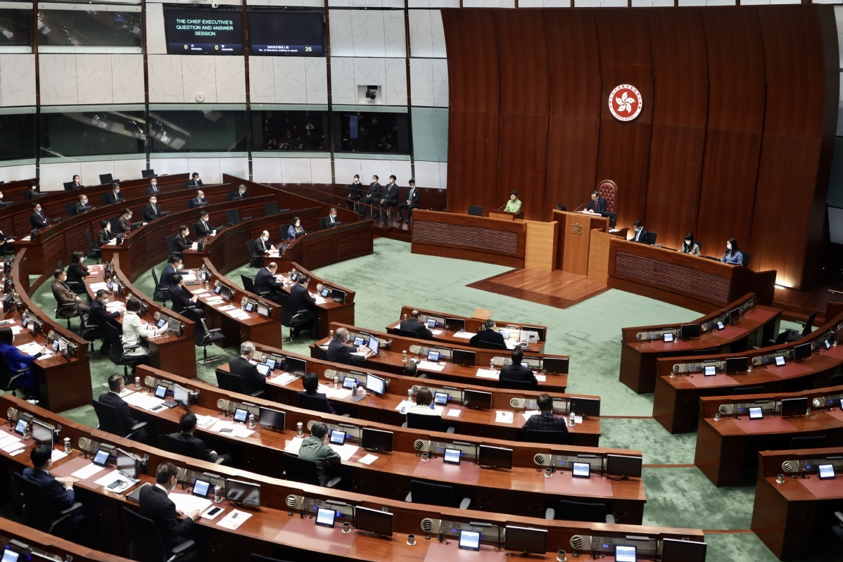 HK back on its feet after protests, epidemic