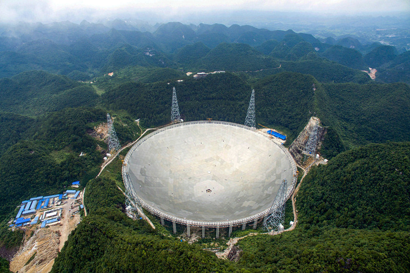 China's gigantic telescope detects new fast radio bursts from space