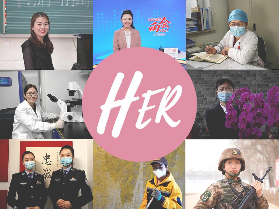 International Women's Day: Her day