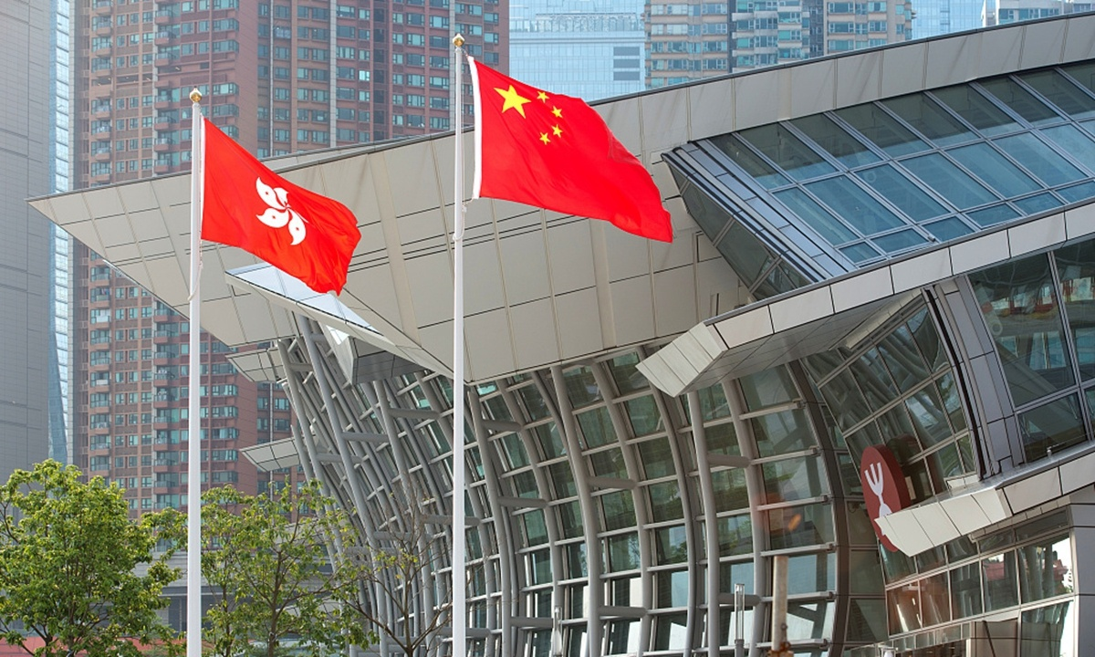 Hong Kong will not be exploited by external forces