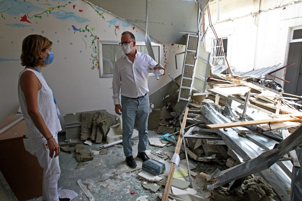 UNICEF, France grant 2.37 mln USD to rebuild Lebanon's hospital damaged in blasts