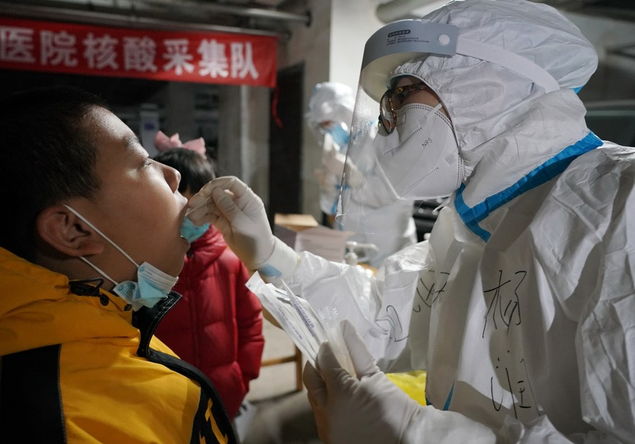 Chinese mainland reports eight new confirmed COVID-19 cases, all imported