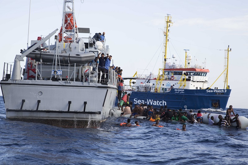 100 illegal migrants rescued off Libyan coast in past week