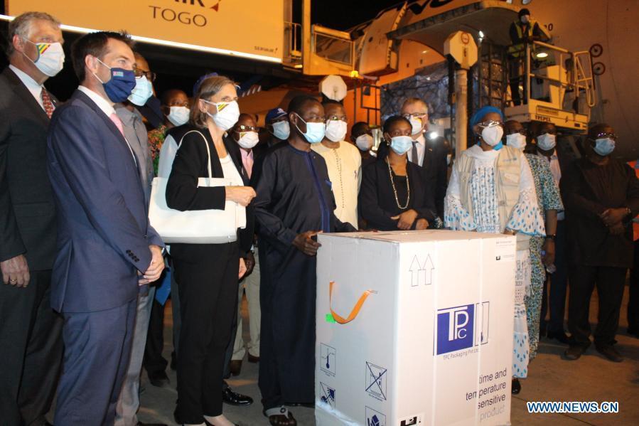 Togo receives first batch of AstraZeneca vaccines to start immunization