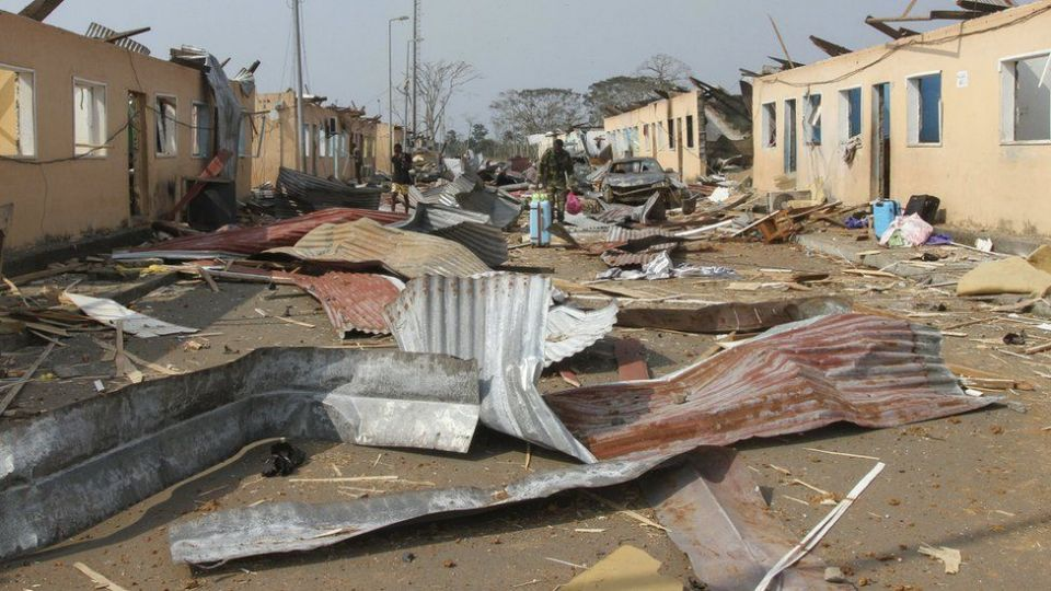 98 dead, 615 injured in explosions in Equatorial Guinea's largest city