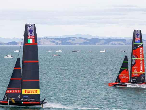 36th America's Cup Finals held in Auckland, New Zealand